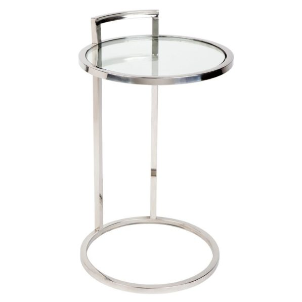 Max Side Table - Chrome