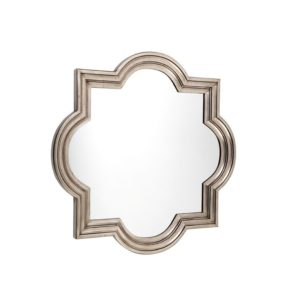 Marrakech Mirror - Small - Antique Silver
