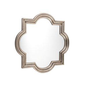 Marrakech Mirror - Large - Antique Silver