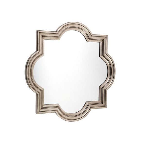 Marrakech Mirror - Large - Antique Silver
