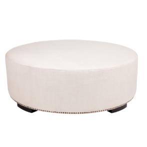 Henderson Ottoman - White