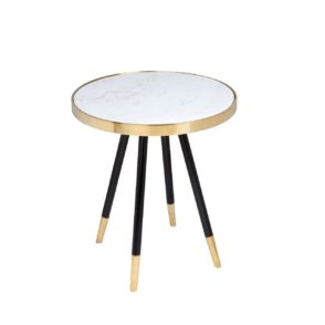 Denmark Side Table - White