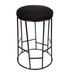 Aiden Bar Stool - Black