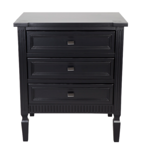 Merci Bedside Table - Large - Black