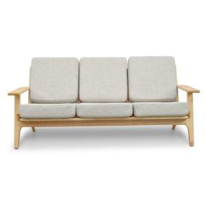 Replica HW Plank Chair - Beige - 3 - Seater Sofa