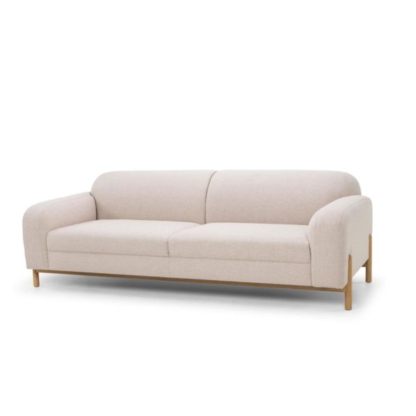 Anette 3 Seater Sofa - Natural