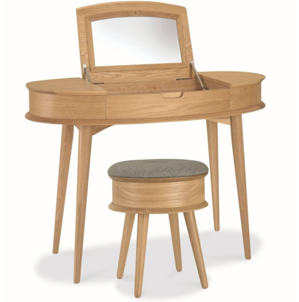Asta Dressing Table Scandinavian Design - Natural
