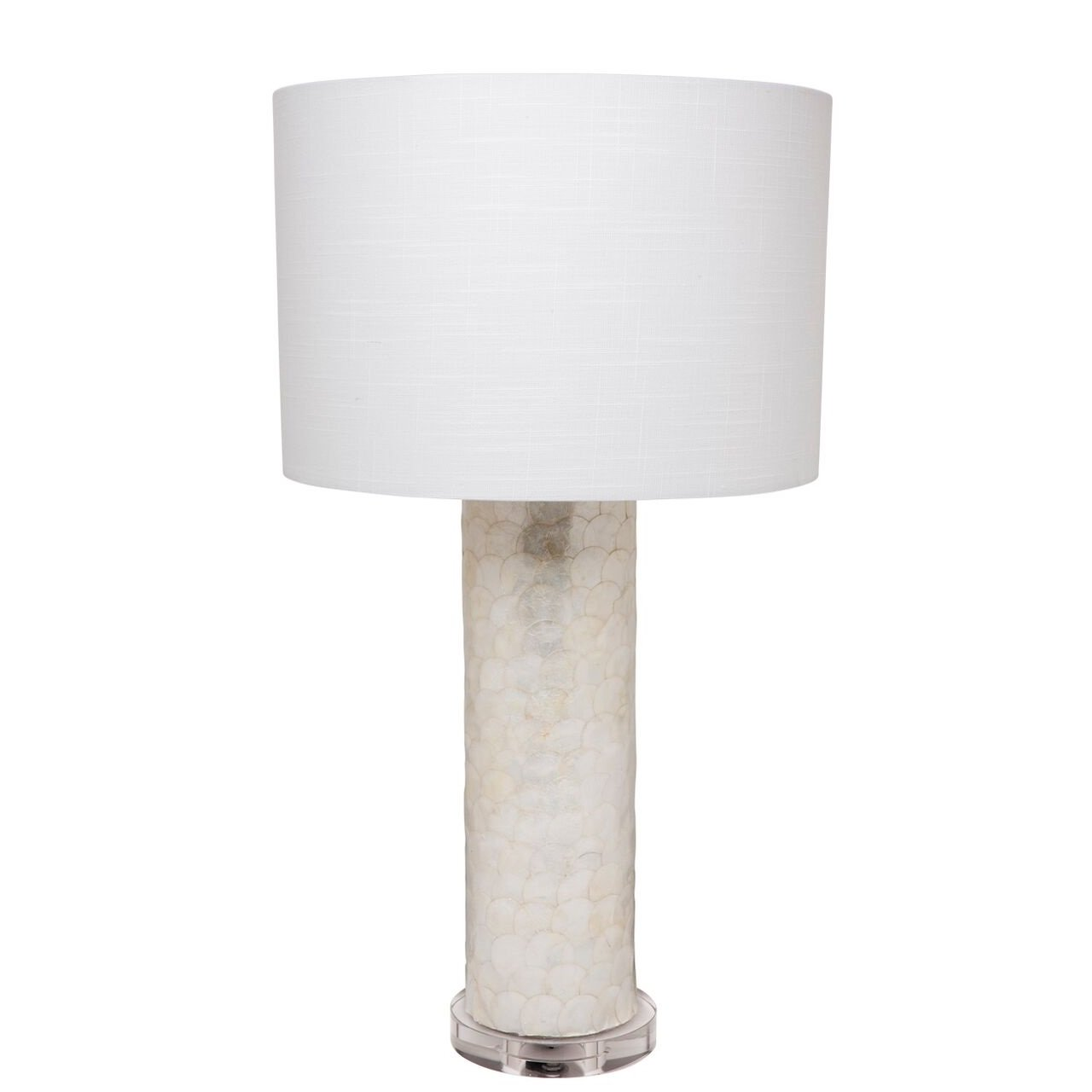 Torquay capiz shell table lamp the interior designer torquay capiz shell table lamp aloadofball Images