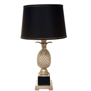 Harper Pineapple Table Lamp - Gold