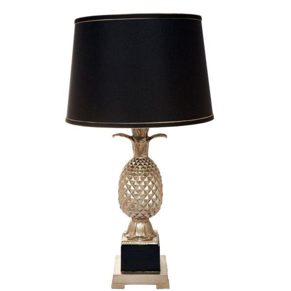 Harper Pineapple Table Lamp - Gold