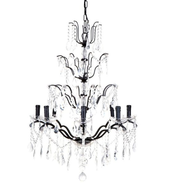 Lyon Chandelier - Black