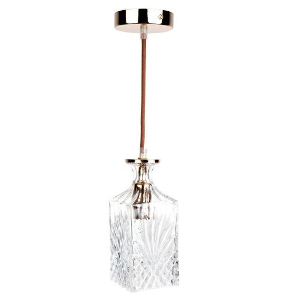 Valmont Square Glass Pendant