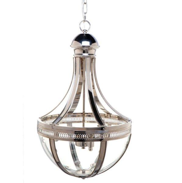 Empire Glass Iron Pendant