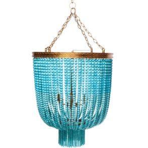Avalon Beaded Pendant - Turquoise