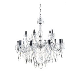 Amelia Metal Chandelier - Chrome
