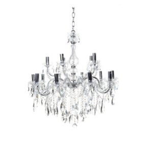 Chandeliers australia interior design services lighting amelia metal chandelier chrome mozeypictures Gallery