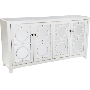 Stockton Mirrored Buffet - White