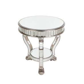 Pearson Mirrored Side Table