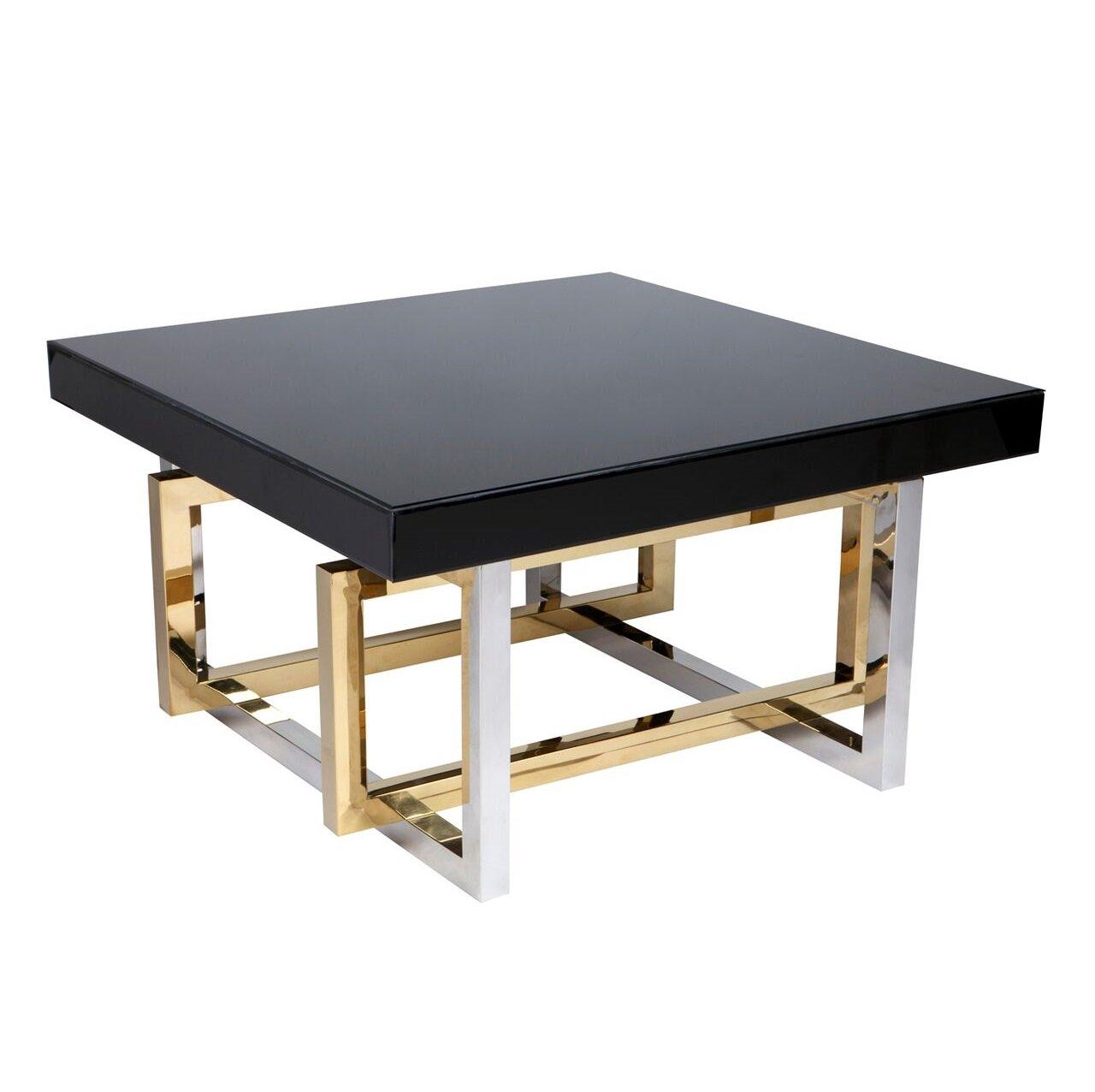 Glass Top Dallas Coffee Table The Interior Designer