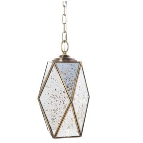 Antique Mirrored Bodega Pendant