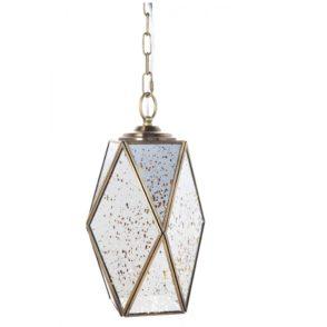 Antique Mirrored Bodega Pendant