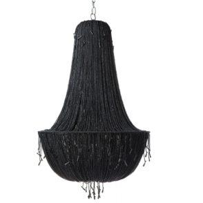 Allegra Chandelier - Black