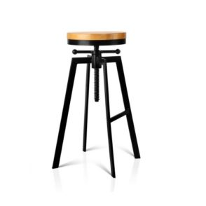 Industrial Stool With Adjustable Height