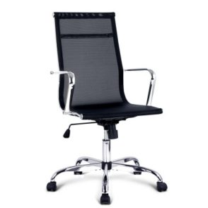 Replica Eames Mesh Office Chair - Black