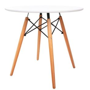 Replica Eames DSW Dining Table - White