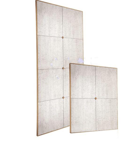 Escobar Antique Panel Mirror