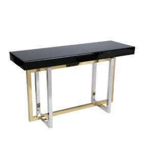 Glass Top Dallas Console Table