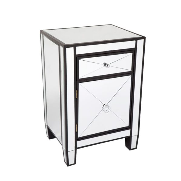 Apolo Mirrored Bedside Table