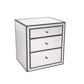 Brentwood Mirrored Bedside Table