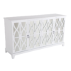 Alistair Mirrored Buffet - White