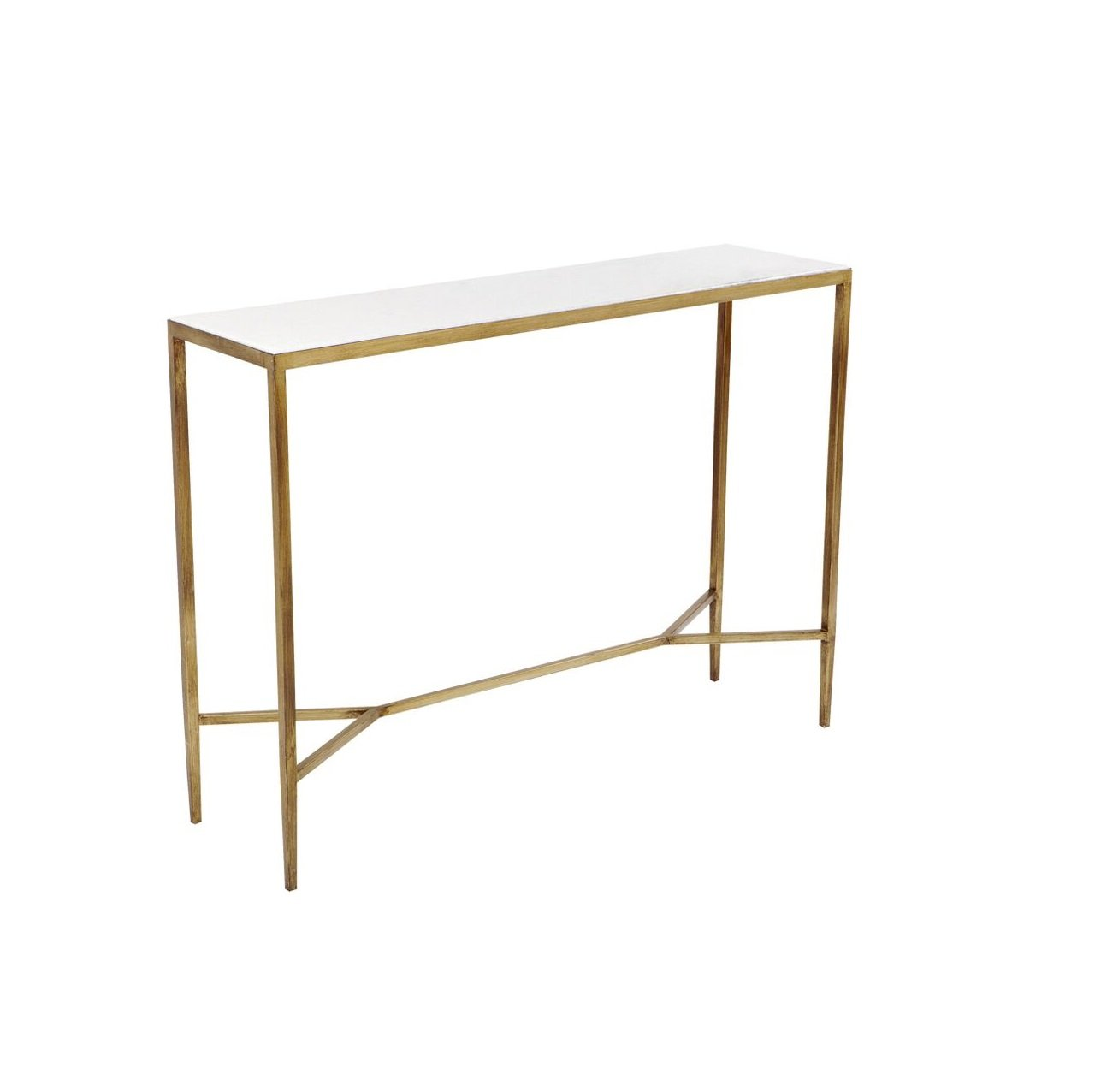 Chloe Foyer Table : The chloe console table gold interior designer