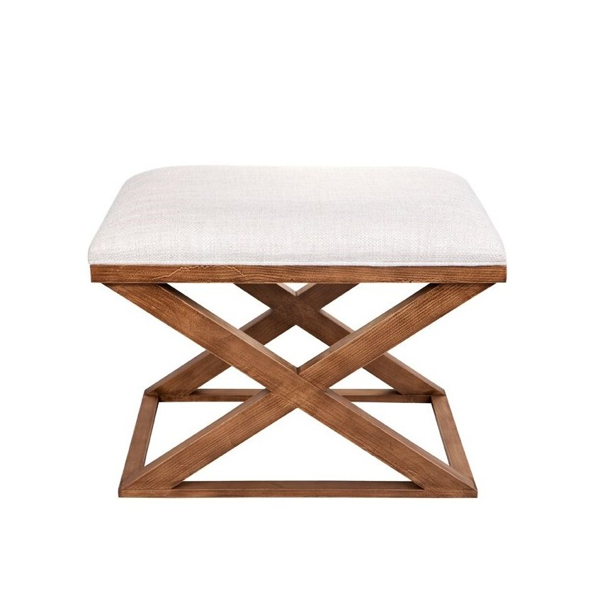 Spencer Cross Legged Stool - Natural