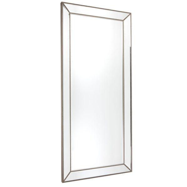 Zeta Beaded Floor Mirror