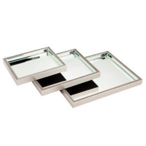Zeta Mirrored Trays