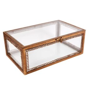 Salamanca Clear Jewellery Box