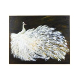 Le Grande Peacock Oil Painting