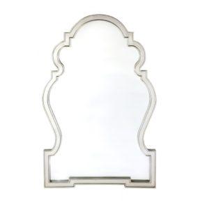 Scandinavian Paloma Mirror - Silver