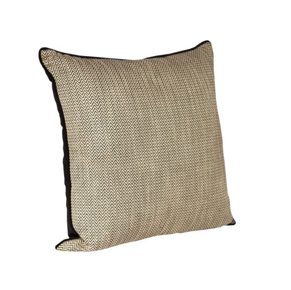 Feather Filled Caesar Cushion - Natural