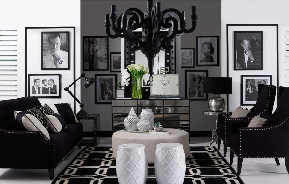 Black White Hollywood Glamour - Shop the Look- The ...