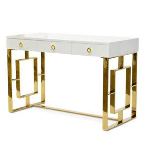 Clancy Home Office Desk - White