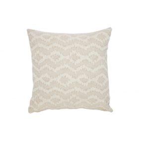Diamond Patterned Cushion - Natural