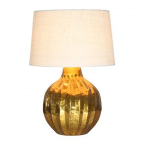 Gold Pot Lamp