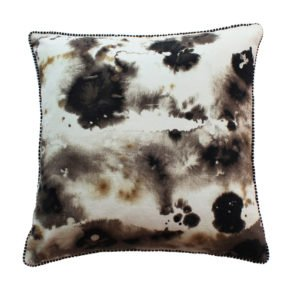 Blotted Canvas Cushion
