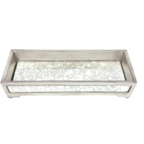 Bardot Antique Mirrored Tray