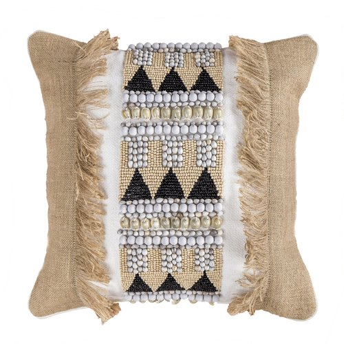 Jaeben Natural Tribal Cushion