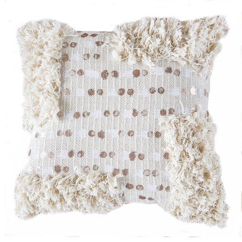 Moroccan Rose Gold Cushion